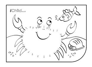Children can have fun with our dot-to-dot activities