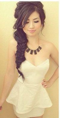 side braid hairstyles bridal asian hair - Google Search ...
