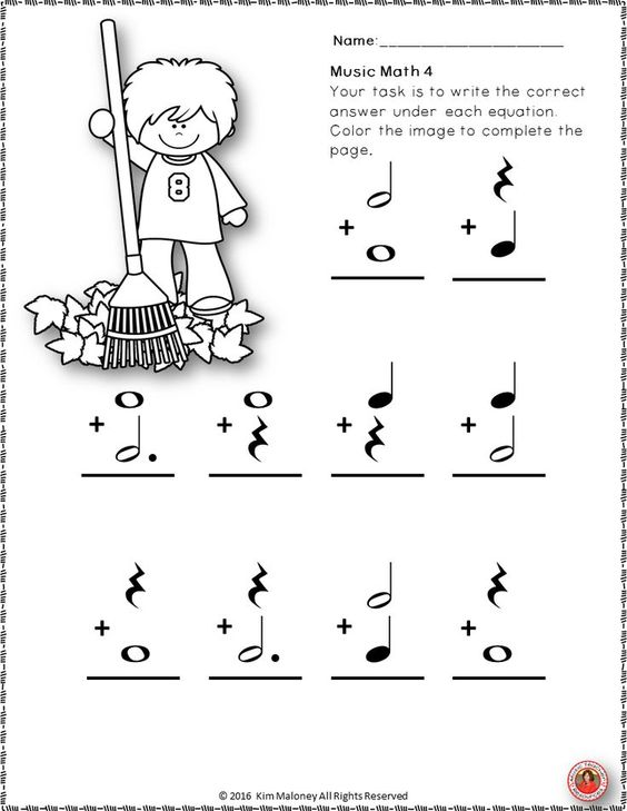 FALL/AUTUMN Music Worksheets! 24 music worksheets aimed at