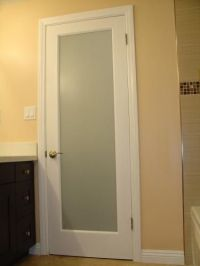Frosted glass, Glass bathroom and Doors on Pinterest