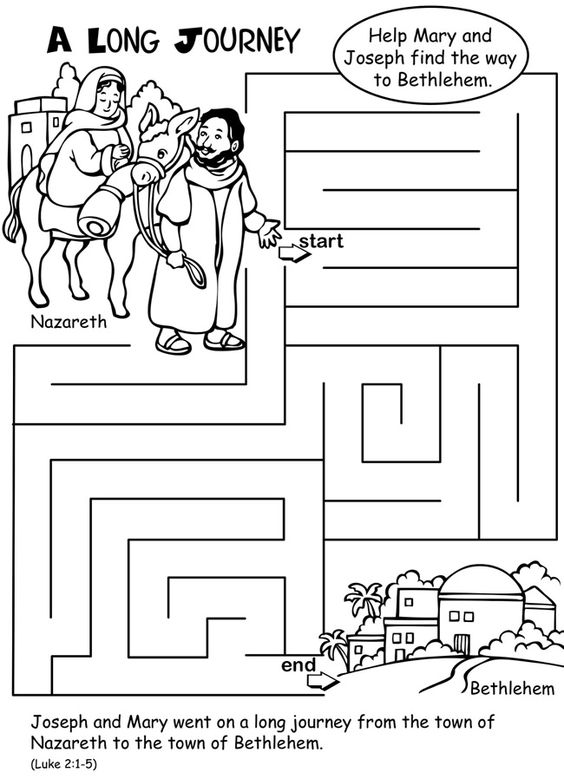 Welcome to Dover Publications From: The Nativity Activity