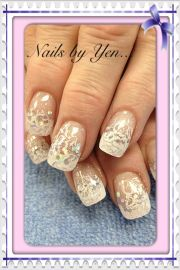 elegant french nail design beauty