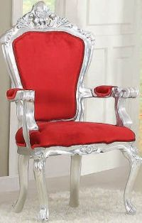 Neo Classic Trendy & Comfort Silver 2 Accent Chairs By ...