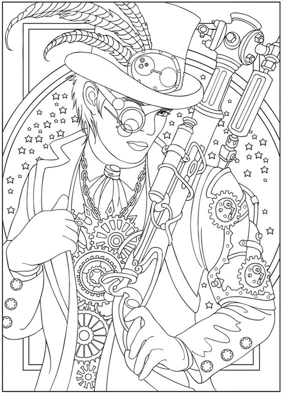 Steampunk design 2 from Dover Publications http://www