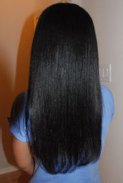 relaxed hair relaxer and healthy