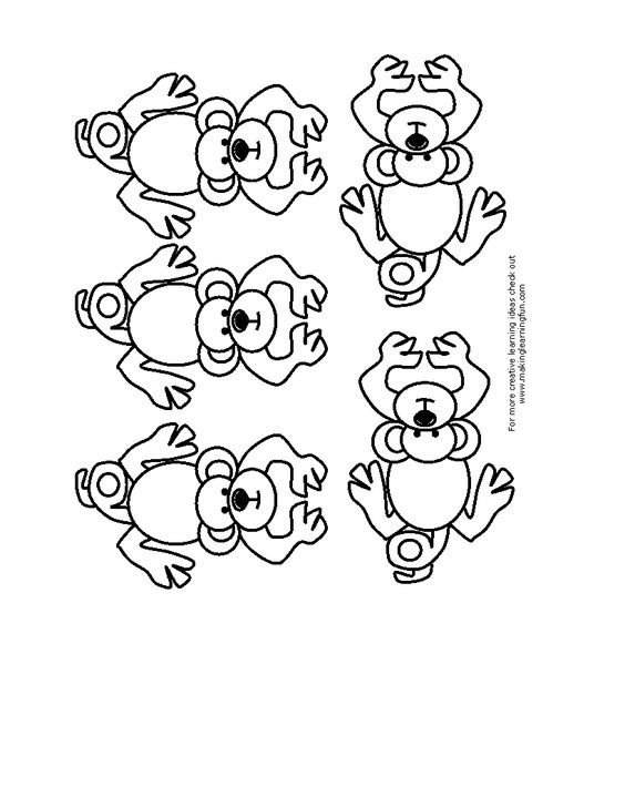 Five little monkeys, Monkey and Sticks on Pinterest