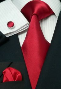 Suits, Red boutonniere and Silk on Pinterest