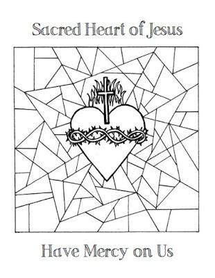 Jesus coloring pages, Sacred heart and Coloring pages on