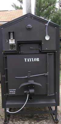 """The BEST Outdoor Wood Furnace """"Taylor Waterstove""""! This is ..."""