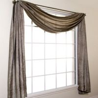 Silkanza 216? Long Crushed Semi Sheer Voile Scarf Window ...