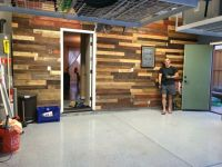 Garage Pallet Wall | Garage | Pinterest | Pallets, Pallet ...