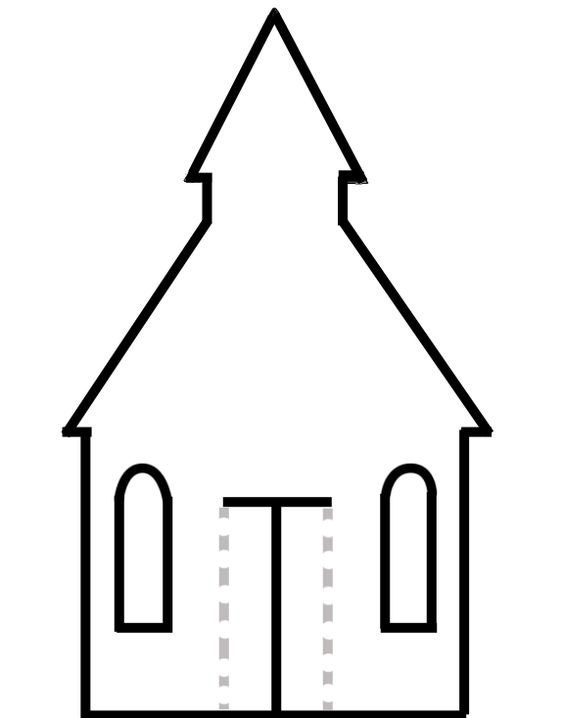 Toddler church crafts, Crafts and House template on Pinterest