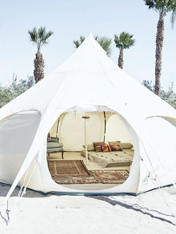 How to Camp in Style in America's Finest National Parks via @MyDomaine