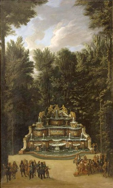 The Fountains of Versailles in the Time of Louis XIV: Buffet d'Eau (Chatelain):
