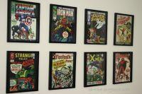Thrifty Decorating - Boys Superhero Room | Comic book ...