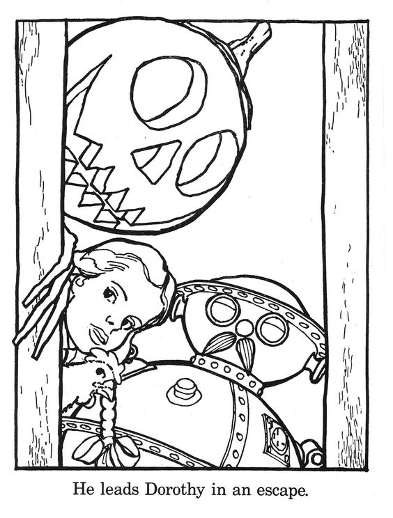 Return to Oz coloring pages! Yea, Jack Pumpkinhead! Huzzah