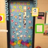 Spring classroom door decor | Kindergarten Decorations ...