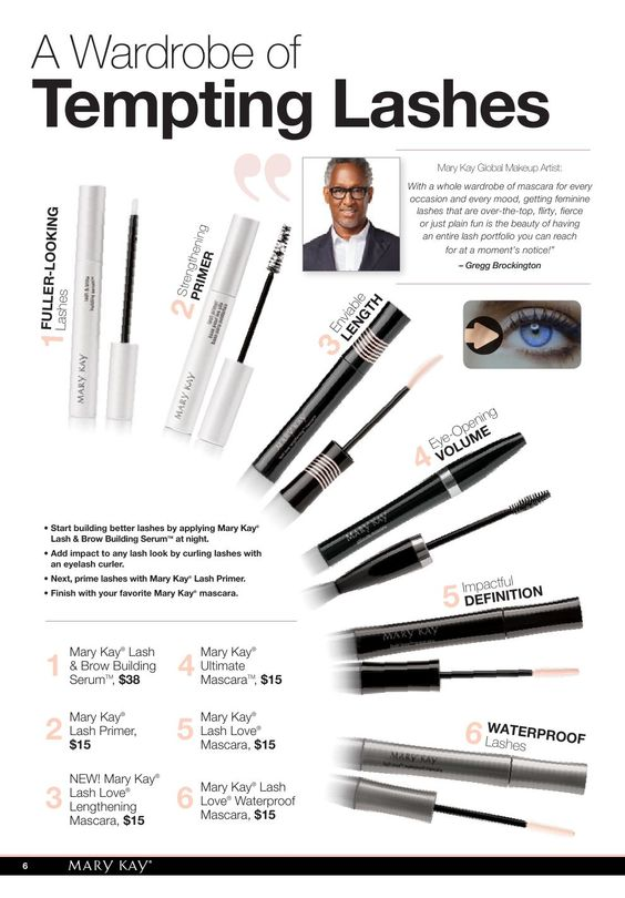 Mary Kay Mascaras = Best. Mascaras. Check out my website