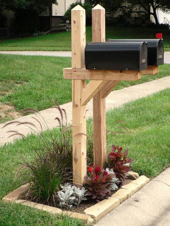 landscapes mailbox landscaping