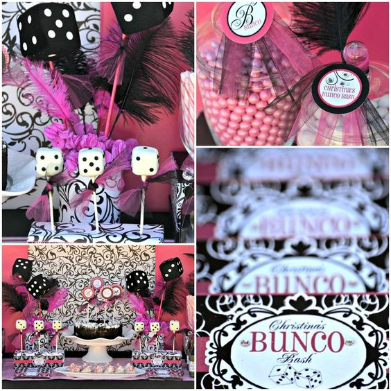Bunco Party Party Gifts And Thanksgiving On Pinterest