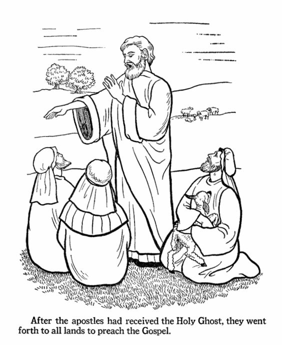 Bible coloring pages, Coloring pages and The gospel on