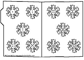 Snowflakes, File folder activities and Activities on Pinterest
