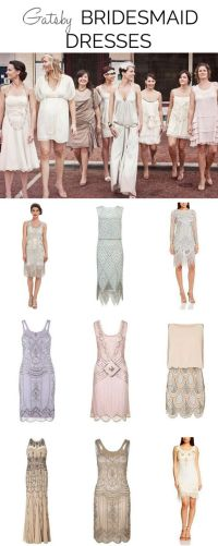 Great Gatsby Bridesmaid Dresses