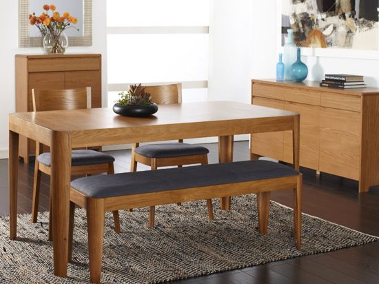 Domino Dining Table & Benches Scandinavian Designs