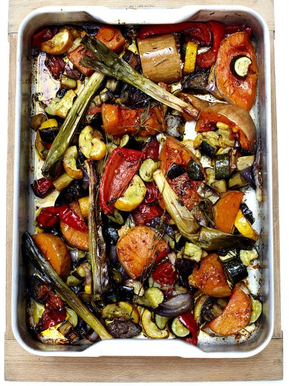 roasted vegetables vegetable recipes and jamie oliver