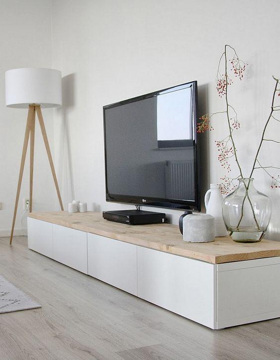 Meuble tv scandinave – un mélange de la simplicité nordique et de l'élégance intemporelle:
