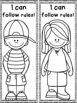 BACK TO SCHOOL RULES! ENGAGING ACTIVITIES{DAVID GOES TO