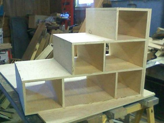 Dog Stairs Built In Bunks And Diy Dog On Pinterest