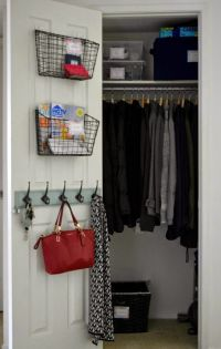 Made2Make: Home Tour: Entryway closet organization | North ...