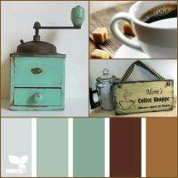 Vintage coffee theme kitchen   Kitchen, Dinning & Pantry ...