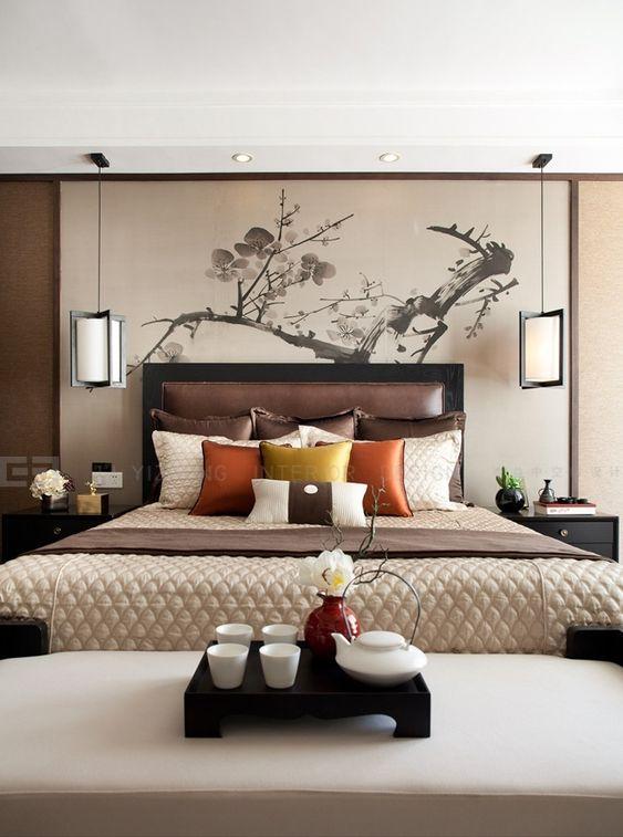Asian Inspired Bedrooms  Tits Blowjob