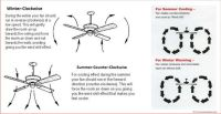 Ceiling Fan Direction  Which way should my ceiling fan
