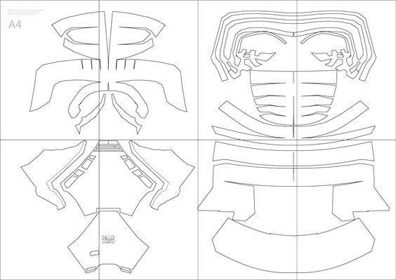 dali-lomo: Star Wars Kylo Ren Costume Helmet DIY