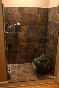 diy shower door ideas | -bathroom-with-doorless-shower ...