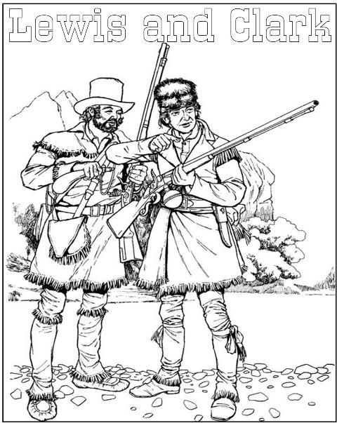 Louisiana Purchase Coloring Page Sketch Coloring Page