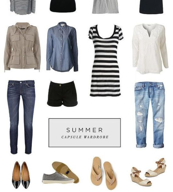 352e3a19b798 Packing List Europe -  favorite  Summer Capsule Wardrobe (straight from her  board)