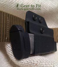 Concealed OWB magazine holder. Runs horizontally for ...