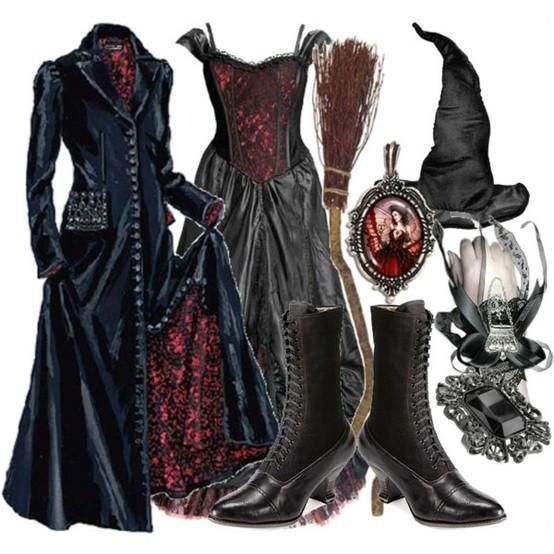 Victorian Witch Outfit Halloween Pinterest Witch Outfit Gothic And Costumes