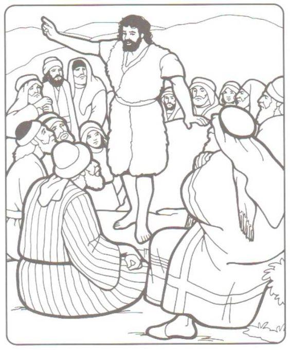 Matthew 3:1 John the Baptist Prepares the Way 3 In those