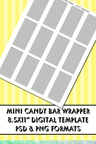 make your own candy bar wrapper