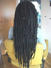 dreads hair and cases
