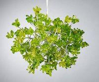 Green Flowers Lamp Shade - Handmade Hanging Lights ...