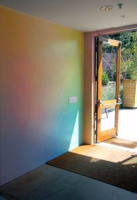 Rainbow wall, Schools and Rainbows on Pinterest