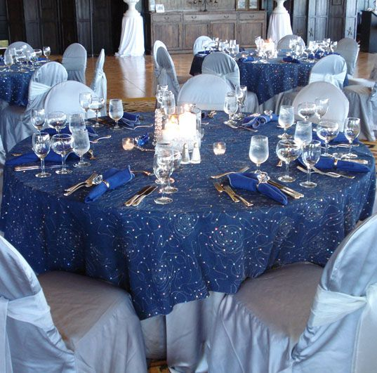 pale blue chair covers pink toddler denim & diamond table decor | and diamonds pinterest tablecloths, overlays events