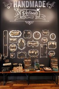 30+ Creative Jewelry Storage & Display Ideas | Retail wall ...