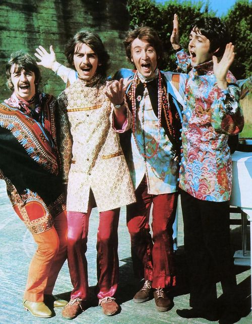 The Beatles, 1967 - 60-as évek hippi stílus